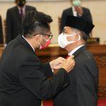 Nuryanto Pimpin Paripurna PAW Anggota DPRD Batam Fraksi Partai Gerindra Capt. Luther Jansen