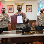 Kapolri Ajak Seluruh Aparatur Penegak Hukum Terlibat Tangani Kejahatan Transnasional