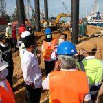 Kepala BP Batam HM Rudi Tinjau Tiga Proyek Pembangunan Infrastruktur
