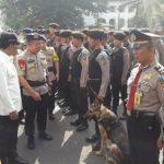 Pengamanan Natal dan Tahun Baru, Polrestabes Bandung Turunkan Tim Gabungan TNI/POLRi dan Pol PP