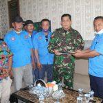 Pengurus F SPTI Kabupaten Batubara Sambangi Makodim 0208 Asahan