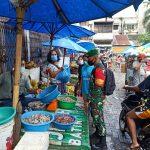 Yonzipur 1/DD Edukasi Masyarakat Pasar Pringgan Tentang Covid 19
