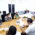 Kadis PUPR Lingga Didampingi Plt Bupati Lingga Kunker Balai Jalan Nasional