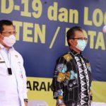 Ketua DPRD Kepri Jumaga Nadeak SH Hadiri Penyerahan Vaksin Covid 19 ke Kabupaten /Kota