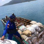 Sat Polairud Polres Anambas Laksanakan Patroli Himbauan Terhadap Penambang Pasir Laut