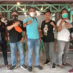 Rayakan HPN Sederhana, Wartawan Online Undang Ketua PWI Asahan Ngopi Bareng