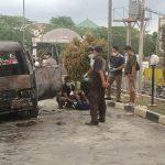 Mobil Suzuki Carry Terbakar di SPBU Merapi Subur, Tewaskan Seorang Bocah