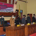 DPRD Lingga Gelar Paripurna Penetapan Bupati-Wakil Bupati Terpilih