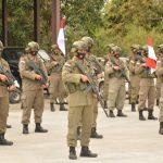 6 Bulan Penugasan di Papua, 100 Personil Sat Brimob Tiba di Batam