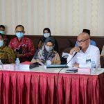 Banggar DPRD Kepri Gelar Rapat Dengan Inspektorat dan Satgas Kepri Terkait Penanganan Pandemi Covid 19
