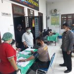 Kecamatan Hamparan Perak Gelar Vaksinasi Perdana