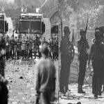 Demonstran Berhasil Melarikan Diri Setelah Terjebak Dari Pasukan Keamanaan Myanmar
