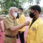 Bupati Surya Lepas 115 Mahasiswa Lulusan UNA Program Kampus Mengajar Kemendikbud
