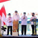 Presiden Jokowi Resmikan Bandar Udara Kuabang Halmahera Utara