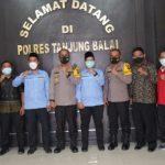Kapolres Tanjung Balai Menerima Audiensi BPKRMI Kota Tanjungbalai