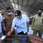 Bupati Zahir Resmikan TPI Kabupaten Batu Bara
