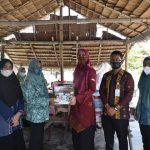 Dekranasda Provsu Salurkan Bantuan Lewat Ketua Dekranasda Batu Bara