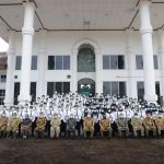 Penyerahan SK Bupati Asahan Tentang Pengangkatan CPNS di Lingkungan Pemkab Asahan, ini Pesannya
