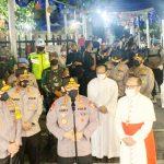 Kapolri Pastikan Perayaan Jumat Agung dan Paskah Aman dan Kawal Vaksinasi Nasional