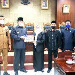 Galery Photo : DPRD Anambas Gelar Rapat Paripurna LKPJ Bupati dan Penyampaian Pandangan Umum Fraksi
