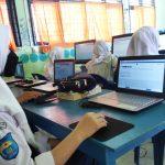 Dapat Bantuan Dari Medco, SMPN 1 Palmatak Sukses Laksanakan Ujian Kelulusan