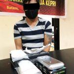 Pria Ini Miliki Sabu 49,42 Gram Ditangkap Dit Resnarkoba Polda Kepri