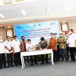 PTPN IV Serahkan Dana CSR Berupa 1 Unit Dump Truck Kepada Pemkab Batu Bara