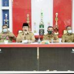 Pemkab Asahan Menyerahkan Bantuan Beras Kepada Kaum Dhuafa