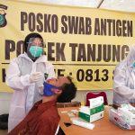 Swab Antigen Gratis Polsek Tanjung Duren Capai 1000 Peserta
