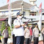 Bupati Zahir Pimpin Apel Operasi Ketupat Toba 2021