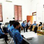 Dinas Kominfo Kabupaten Batu Bara Gelar Rapat Staf Perdana Paska Idul Fitri 1442 H