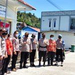 Kapolres Anambas Lakukan Pengecekan Kelengkapan Posko PPKM