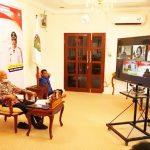 Bupati Surya Ikuti Pembekalan Kepemimpinan Pemerintahan Dalam Negeri Melalui Vitual