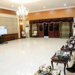 Bupati Asahan Ikuti Rakor Virtual Evaluasi Perkembangan Pelaksanaan PPKM Mikro