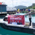 """Satpolairud Polres Kepulauan Anambas Lakukan Kegiatan """"Nasi Kapau"""""""