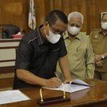 Tujuh Fraksi DPRD Kabupaten Asahan Setujui Ranperda