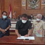 Bupati dan Ketua DPRD Asahan Tandatangani RPJMD Kabupaten Asahan Tahun 2021-2026