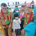 Kunjungi Kecamatan Pulau Tiga, Bupati Natuna Apresiasi Vaksinasi Capai 70 Persen