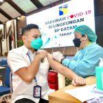 BP Batam Tuntaskan Vaksinasi Covid-19 Dosis Ke-2 Bagi Pegawai BP Batam