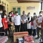 Bupati Zahir Bersama Ketua BK3S Beri Bantuan Kepada Yayasan Rumah Kasih Gunung Sion Kanaan