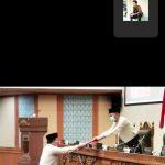 DPRD Batam Gelar Rapat Paripurna Terkait Pandangan Umum Fraksi Lewat Meeting Zoom